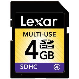 レキサー・メディア Standard SDHCカード Class4 4GB LSD4GBABJP