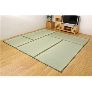 糸引織 い草上敷 『四季の暮らし』 江戸間6畳(約261×352cm)の詳細を見る