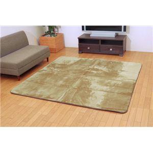 三菱レイヨン ルネス使用カーペット 『シルフィア』 グリーン 200×250cm(吸湿発熱、抗菌防臭、消臭)の詳細を見る