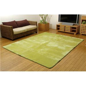 洗える ウォッシャブルラグカーペット 『WSウェンデルNSK』 グリーン 200×250cm