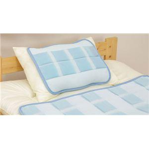 東レ クールインF生地使用 吸放出性 接触冷感 枕パッド 『クールジェル』 40×50cm - 拡大画像