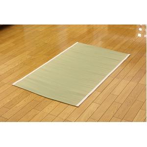 医師との共同開発 い草寝具 『アスク 汗取P』 シングル 約100×200cm - 拡大画像