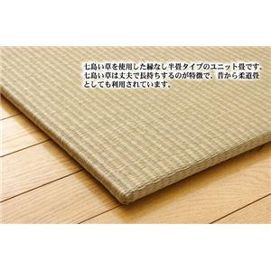 七島い草使用 ユニット畳 『琉球畳20mm』 82×82×2.0cm(2枚1セット)