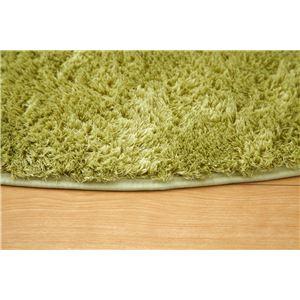 フィラメント糸使用 ホットカーペット対応ラグ 『ツイート』 グリーン 200×250cmの詳細を見る