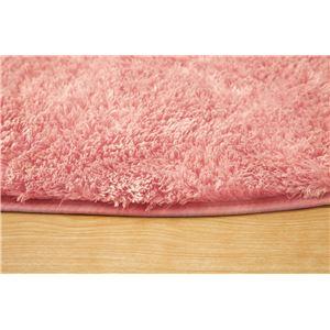 フィラメント糸使用 ホットカーペット対応ラグ 『ツイート』 ピンク 185×185cm 正方形の詳細を見る