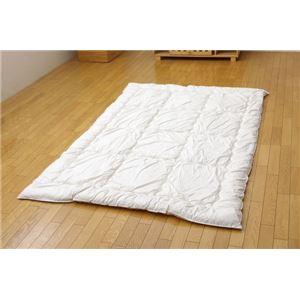 羽毛タッチ 機能性ウォッシャブル寝具 『クリーンガード 掛け布団』 アイボリー シングル 150×210cm