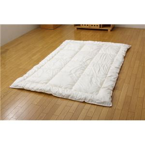 温度調節素材使用 寝具 『アウトラスト掛け布団』 アイボリー シングル 150×210cm - 拡大画像