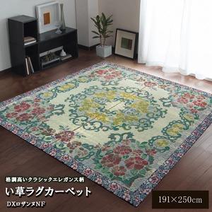 い草ラグカーペット 『D×ロザンヌNF』 約191×250cm(裏:不織布)の詳細を見る