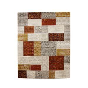 トルコ製 ウィルトン織り カーペット 『キエフ RUG』 オレンジ 約160×235cmの詳細を見る