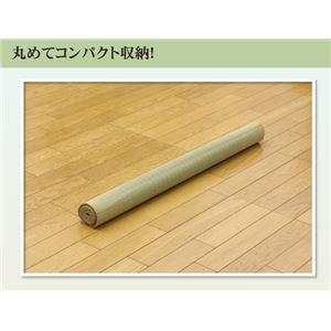 純国産 い草のシーツ(寝ござ) 『黒川』 グリーン シングル88×180cm(熊本県八代産イ草使用)