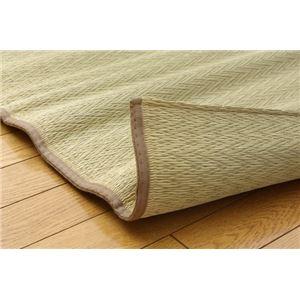 純国産 い草たっぷりシーツ(寝ござ) 『シャリパット』 シングル88×180cm リバーシブルタイプ