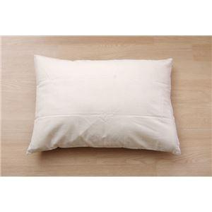 布団カバー 洗える チェック柄 インド綿使用 『バジル 枕カバー』 ブラウン 約43×63cm