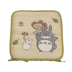 座布団 クッション い草 国産 シート となりのトトロ 『トトロ 森のきのこ 捺染アドラ』 約40×40cm ・・・