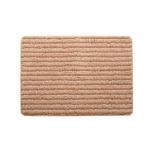 バスマット フロアマット 洗える 抗菌防臭 吸水 部屋干しOK 『プラチナクリーン ナリ』 ベージュ 約45×60cm
