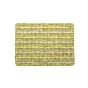 バスマット フロアマット 洗える 抗菌防臭 吸水 部屋干しOK 『プラチナクリーン ナリ』 グリーン 約45×60cm