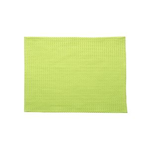 バスマットフロアマット洗える吸水速乾バリアフリーつまづきにくい『ワッフル』グリーン約50×75cm