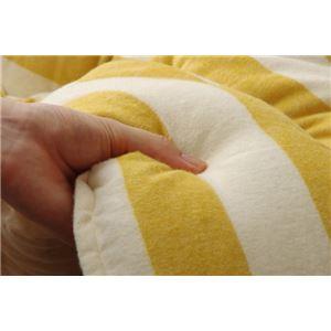 こたつ布団 長方形大 掛け単品 インド綿 『ロカ』 イエロー 約205×285cm
