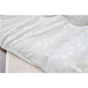 こたつ布団 正方形 掛け単品 洗える 北欧 もちもちタッチ 『レティス』 グレー 約190×190cm