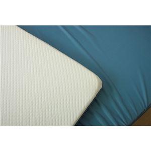 冷感 敷きパッド/寝具 【無地 約140cm×70cm】 ダブル 洗える 低反発 接触冷感 『ツインクール 敷きパッド』 〔寝室〕