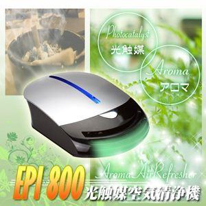 ラビン アロマ空気清浄機 (リビング用+車載用 2電源アダプター付)EPI800