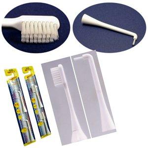 アルイオン電動歯ブラシ専用替え歯ブラシ2本パック 替え歯間ブラシ(2本パック) - 拡大画像