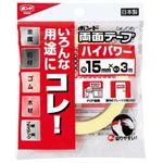 コニシ 強力両面クッションテープ15mm×3M日本製05246 【10個セット】 32-670