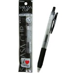 ゼブラ サラサクリップジェルボールペン0.3超極細(黒) 【10個セット】 32-596