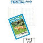 学習帳K-50-2かんじれんしゅう100字 【10個セット】 31-382