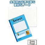学習帳EH-5B方眼罫5ミリ・ブルー 【10個セット】 31-387