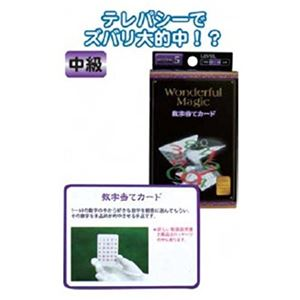 マジックグッズ中級数字当てカード G85554 【12個セット】 37-243