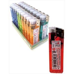 電子ライター プッシュ式セーフティー 432901 【20個セット】 29-397