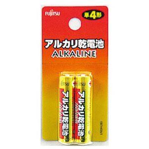 富士通アルカリ乾電池単4(2P)LR03H(2B)【10個セット】36-243