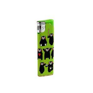 電子ライター くまモン スライド式スムジーライトMX-DP-07R 【20個セット】 29-541