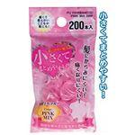 小さく使い易い絡み難い髪ゴムピンク系200本入 【12個セット】 18-948