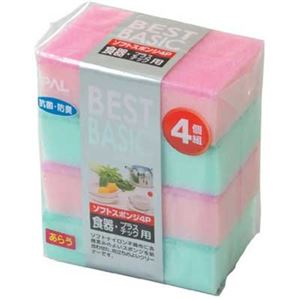 BBソフトスポンジ(4P) 【12個セット】 30-254