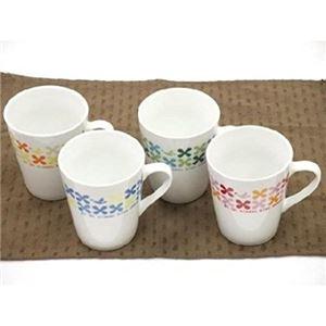 クローバーマグカップ(陶器) 【12個セット】 1085