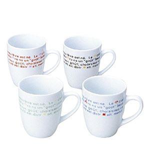フレンチマグカップ(陶器) 【12個セット】 1087