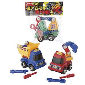 組み立て建設車【12個セット】7534