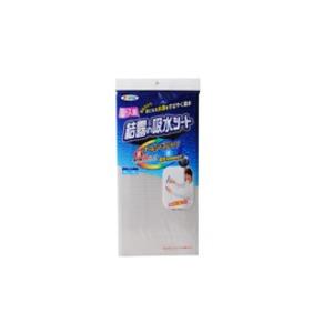 UVカットレース調結露吸水シート 92×90cm 花柄 - 拡大画像