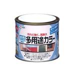 水性多用途カラー ミルキーホワイト 1/5L【5個セット】
