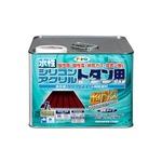 水性シリコンアクリルトタン用 こげ茶 7L