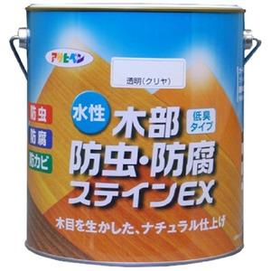 水性木部防虫・防腐ステインEX ライトオーク 3L