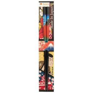 田中箸店 日本デザイン箸 赤富士 22.5? 068206 - 拡大画像