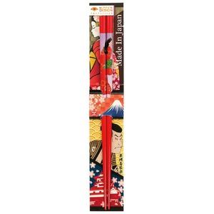 田中箸店 日本デザイン箸 見返り美人 22.5? 068190の画像1