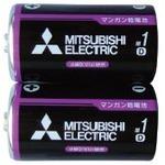 三菱 黒マンガン乾電池単1(2本入) 36-356 【10個セット】