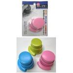 針なし ステープラー ピンク・黄緑・ブルー 【12個セット】 FR-002