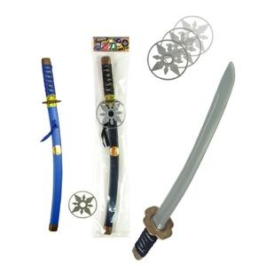 忍者刀(手裏剣付)2 色アソート【12個セット】 TO-088