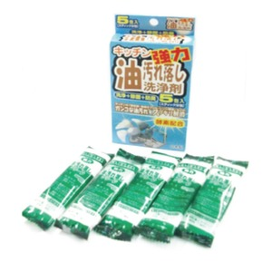 キッチン油汚れ落とし洗剤20gX5包【20個セット】 M221