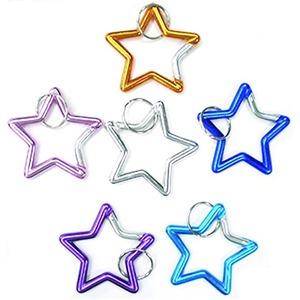 星型アルミホルダー 色アソート【12個セット】 ...の商品画像