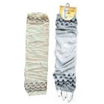 日よけ手袋 刺繍 色アソート【12個セット】 227-23